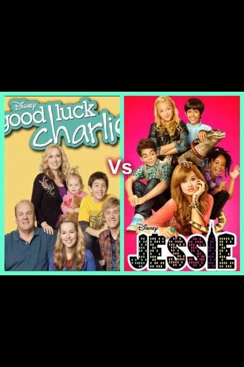 Jessie VS good luck charlie