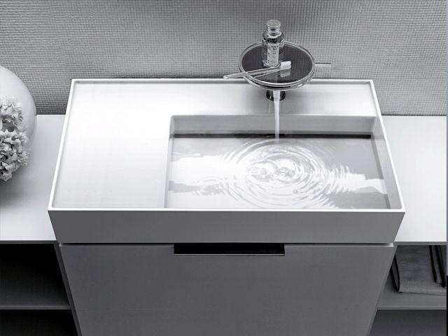 The Revolutionary Sapphire Ceramic Washbasin From Laufen Contemporary Bathroom Sinks Sink Laufen