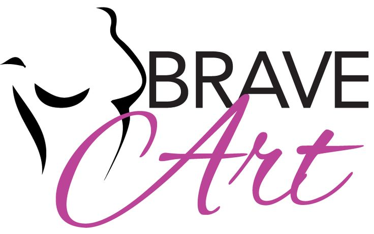 BraveArt is a new creative collaboration that celebrates the positive power of art and sport.  Each artist received a woman's blank plaster torso as a canvas.