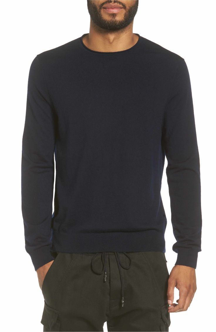Main Image - Vince Rolled Neck Sweater