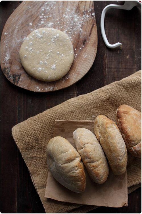 pain-pita à la farine complète