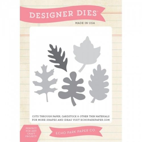 Echo Park Paper-Dies. Quickly and easily die-cut shapes from patterned paper, cardstock and other thin materials! Designer dies are a cut above the rest. Compatible with most manual die-cut machines. Made in USA.