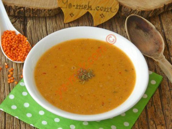 Lokanta Usulü Ezogelin Çorbası Resimli Tarifi - Yemek Tarifleri