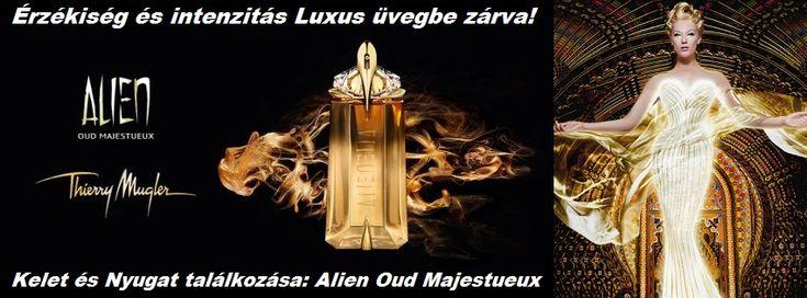 Thierry Mugler Alien Oud Majestueux női parfüm  Érzékiség és intenzitás luxus üvegbe zárva!  http://www.parfumdivat.hu/parfumdivathazak/thierry-mugler-alien-oud-majestueux-noi-parfum.html