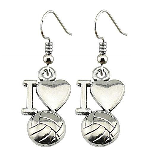 Volleyball Earrings Girls Volleyball Jewelry Love Volleyball Earrings Volleyball Gifts For Players Amazon Com Au Girls Earrings Volleyball Jewelry Jewelry