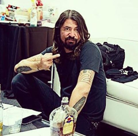 Dave Grohl THIS HAS BEEN MY ATTITUDE FOR ABOUT A MONTH NOW... KINDA HARD TO BREAK THE HABIT!