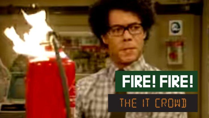 The IT Crowd - Series 1 - Episode 2: Fire!  (2 min., 39 secs.)