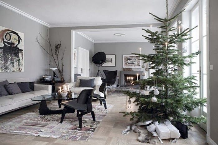 Classic, Scandinavian Christmas decor...