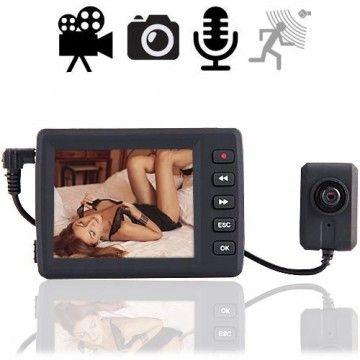 Spionage Knopfloch-Kamera mit Minirekorder für die Westentasche