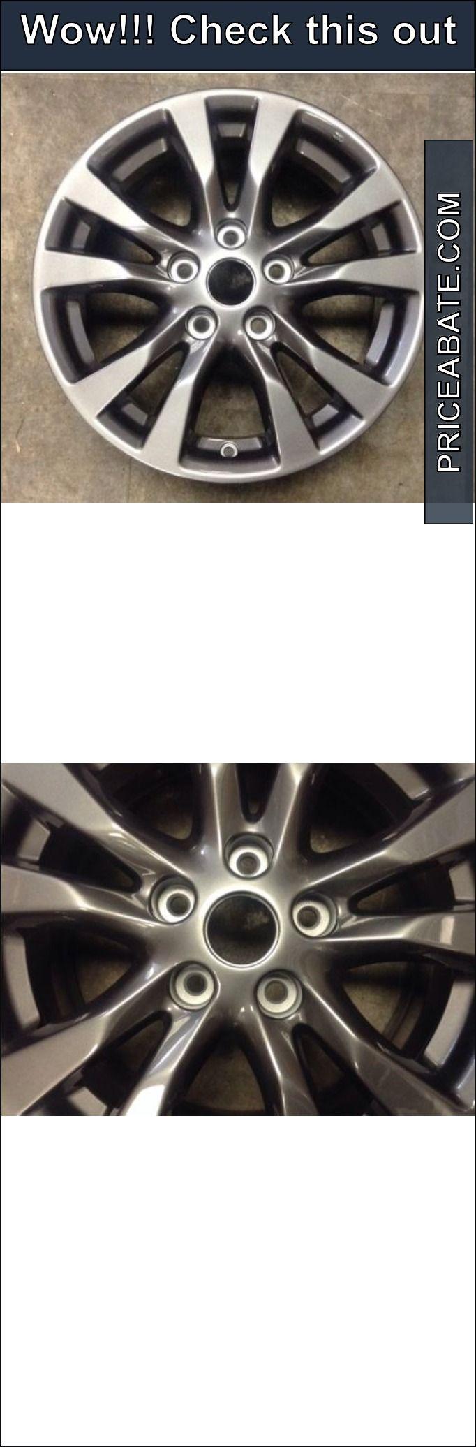 Auto parts general nissan altima 2014 98931 aluminum charcoal oem wheel rim 16