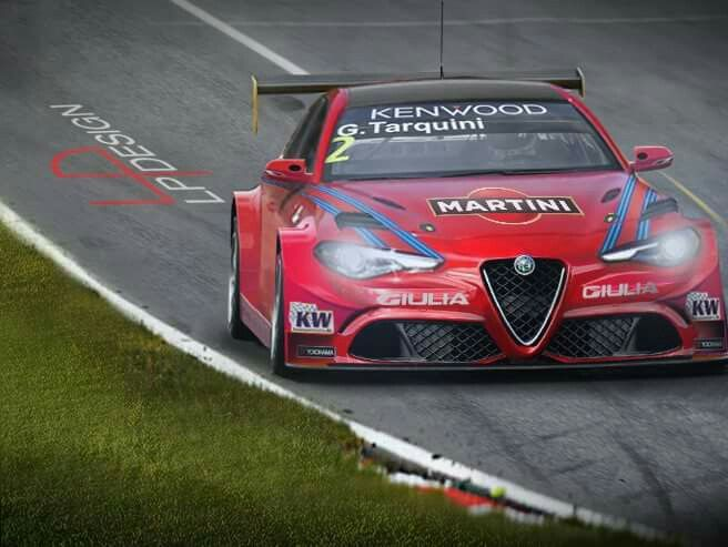 Alfa Romeo Gulia WTCC