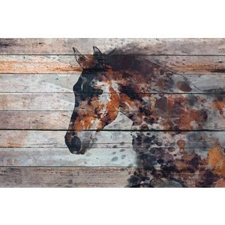 Shop for Marmont Hill - 'Fire Horse' by Irena Orlov Painting Print on Wrapped Canvas. Get free delivery at Overstock.com - Your Online Home Decor Shop! Get 5% in rewards with Club O!