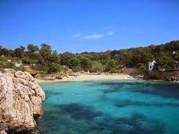 Mallorca: Cala Gat strand nabij Capdepera op Mallorca