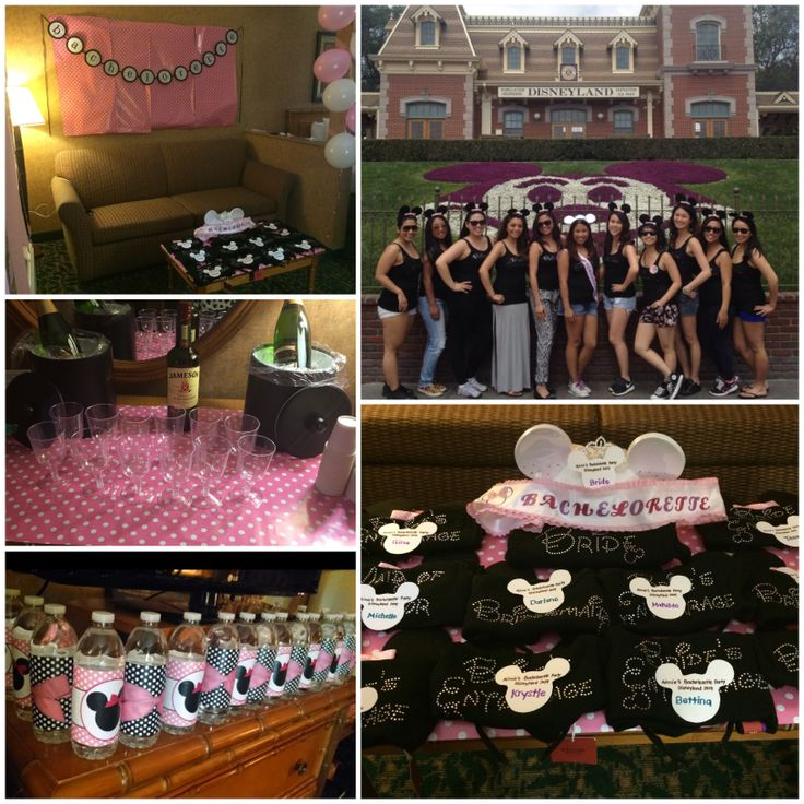 1000+ Ideas About Disney Bachelorette Parties On Pinterest
