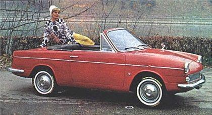Fiat 600/750 Spyder (Moretti), 1963