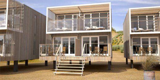 Strandhuisjes, Beach villa's Landal in Hoek van Holland voor 4-6 personen