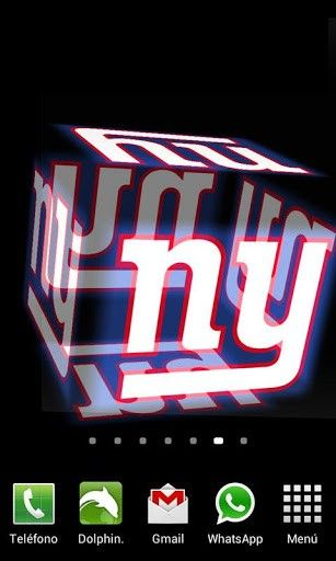 Ny Giants 3D Wallpaper | View bigger - 3D New York Giants Wallpaper for Android screenshot