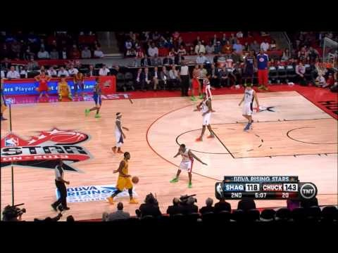 Kyrie Irving Crossover On Brandon Knight - 2013 Rising Stars Challenge