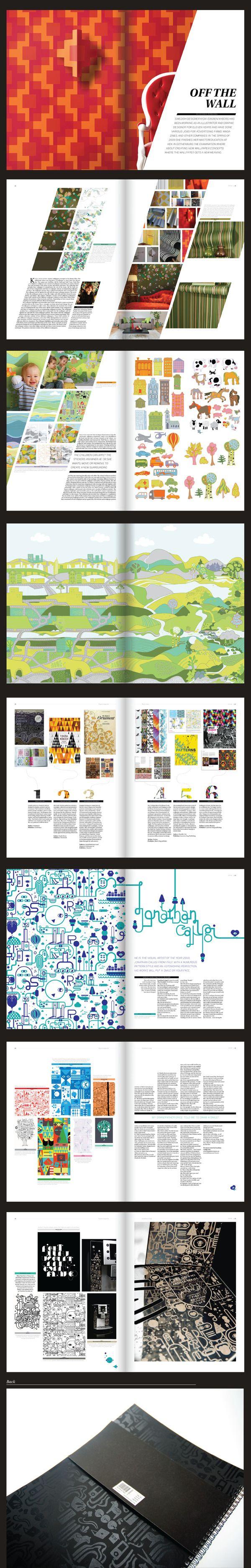 70 Exemplos de design editorial - Choco la Design | Choco la Design | Design como chocolate, deixa tudo mais gostoso. more on http://html5themes.org