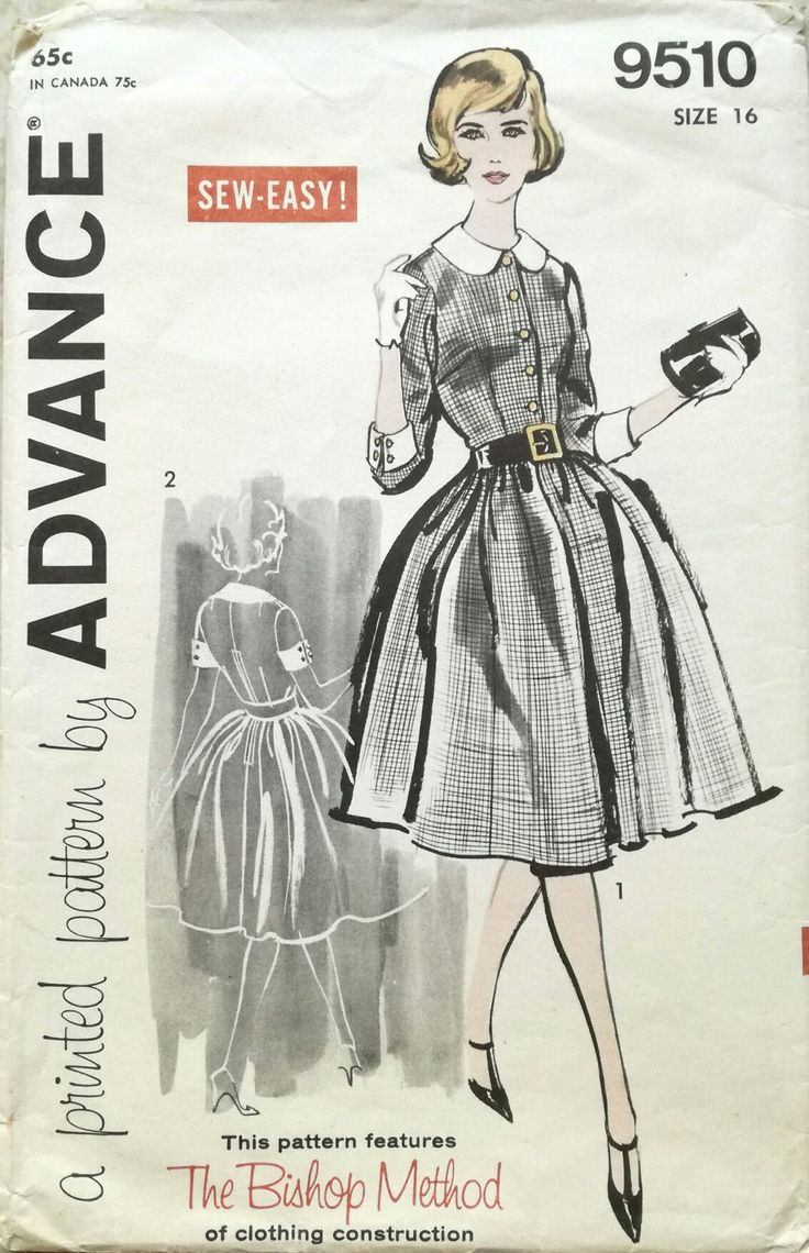 Sewing patterns canada images craft decoration ideas 23 best vintage paper sewing patterns images on pinterest advance 9510 sewing pattern jeuxipadfo images jeuxipadfo Gallery