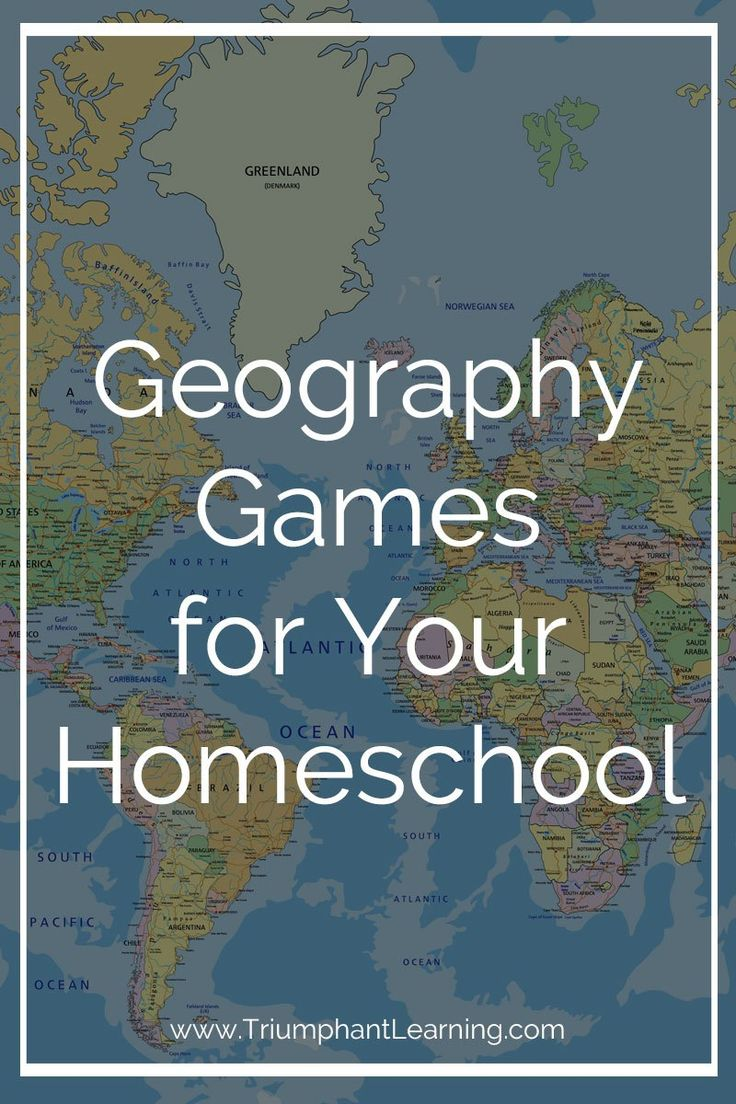 Take advantage of a child's natural love of games! Sneak in extra practice and have fun at the same time with one of these geography games.