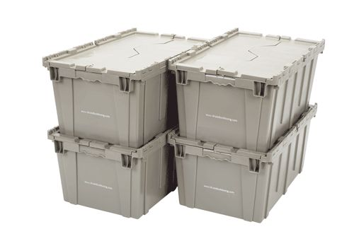 STACK IT UP. Make sure your moving boxes have lids or tops so your boxes can be stacked during your move.