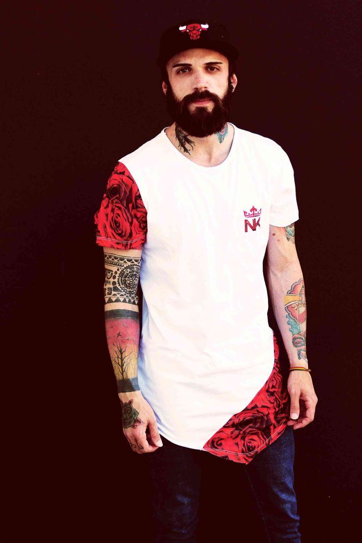 Moda masculina: aprenda a usar a t-shirt longline