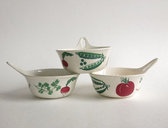 Rare Figgjo Flint Norway Cuisine Bowls at Eight Mile Vintage on Etsy