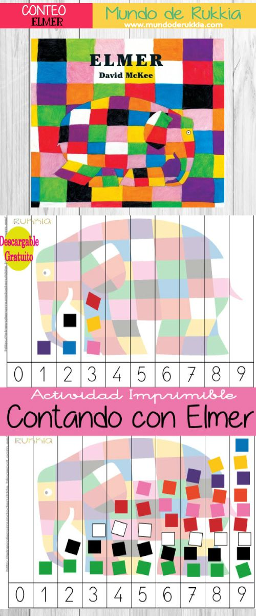 aprender a contar con Elmer, juego elmer, descargable elmer, juego para aprender a contar, juego para aprender los numeros, actividades para niños numeros, actividades de numeros, juegos de numeros, elmer cuento, elmer actividad, elmer descargable, learning number kids, elmer the elephant, elmer the elephant activities, elmer the elephant download, elmer the elephant pdf, elmer david mckee,conteo, numeros, numeros infantil, numeros primaria