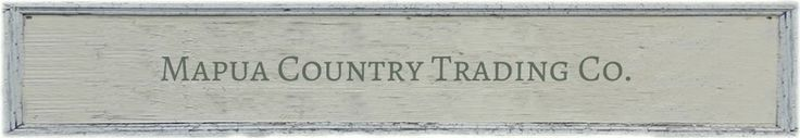 Country Trading Co. - this website is GREAT
