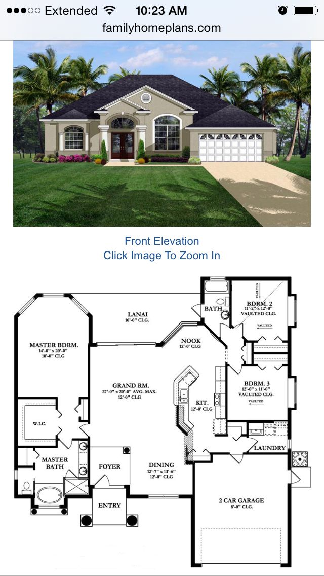 I like the floor plan a lot, I would like more of a craftsman looking exterior though, and add a basement.