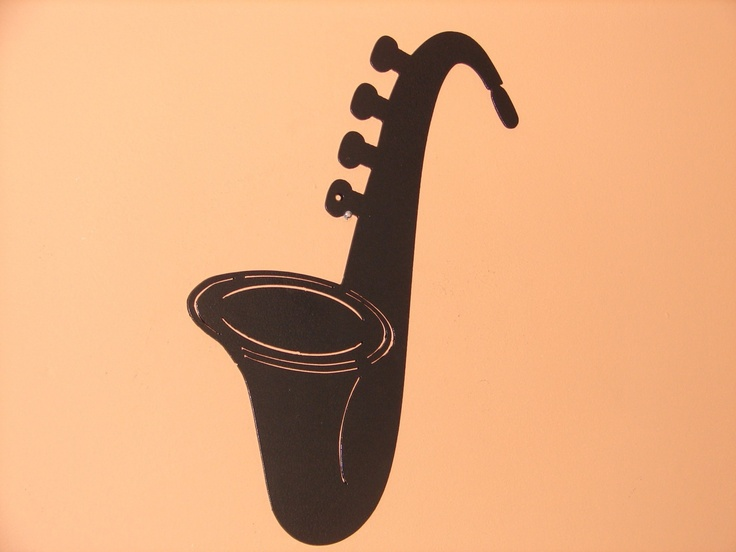 Sax Saxophone Metal Wall Art Music Musical Decor Jazz