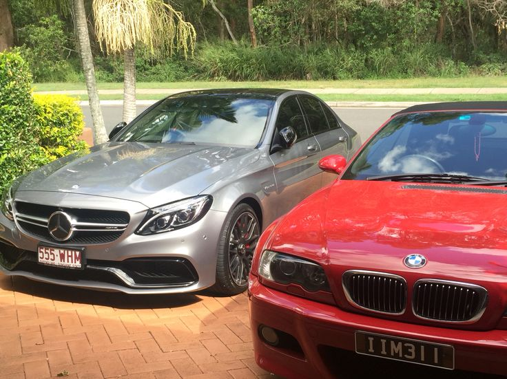 M3 and my c63s omg #c63s #amg #sportscar #mercedesamg #m3 #bmw #e46