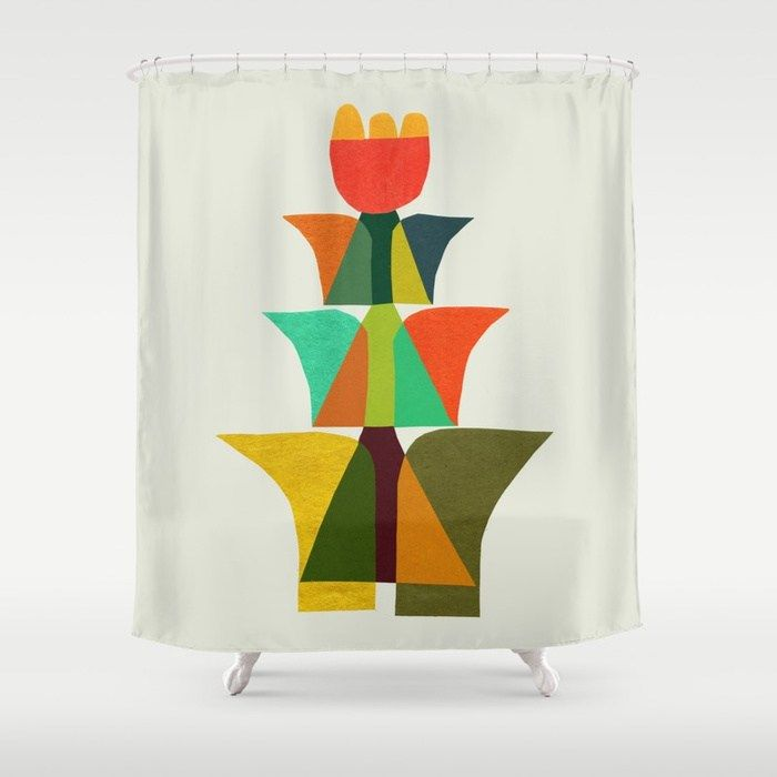 Whimsical Bromeliad Shower Curtain By Budikwan Society6