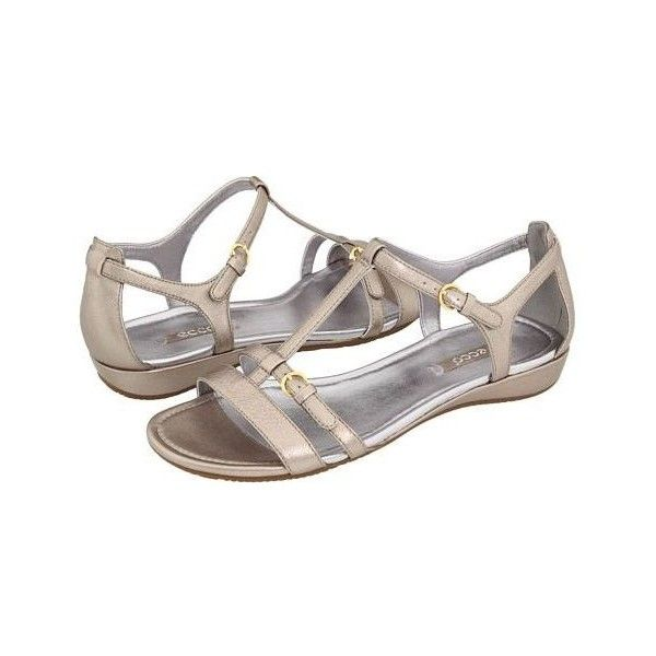 Fab Find Ecco Casual Bouillon Sandal ❤ liked on Polyvore featuring shoes, sandals, ecco sandals, summer sandals, ecco shoes, summer footwear and ecco footwear