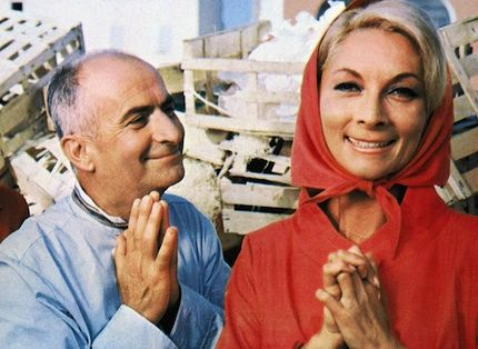 Louis de Funès, ses jardins secrets - Le Point Le gendarme se marie (1968)