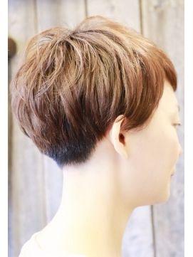 【+~ing】 刈り上げマッシュ【随原麻由】 - 24時間いつでもWEB予約OK!ヘアスタイル10万点以上掲載!お気に入りの髪型、人気のヘアスタイルを探すならKirei Style[キレイスタイル]で。