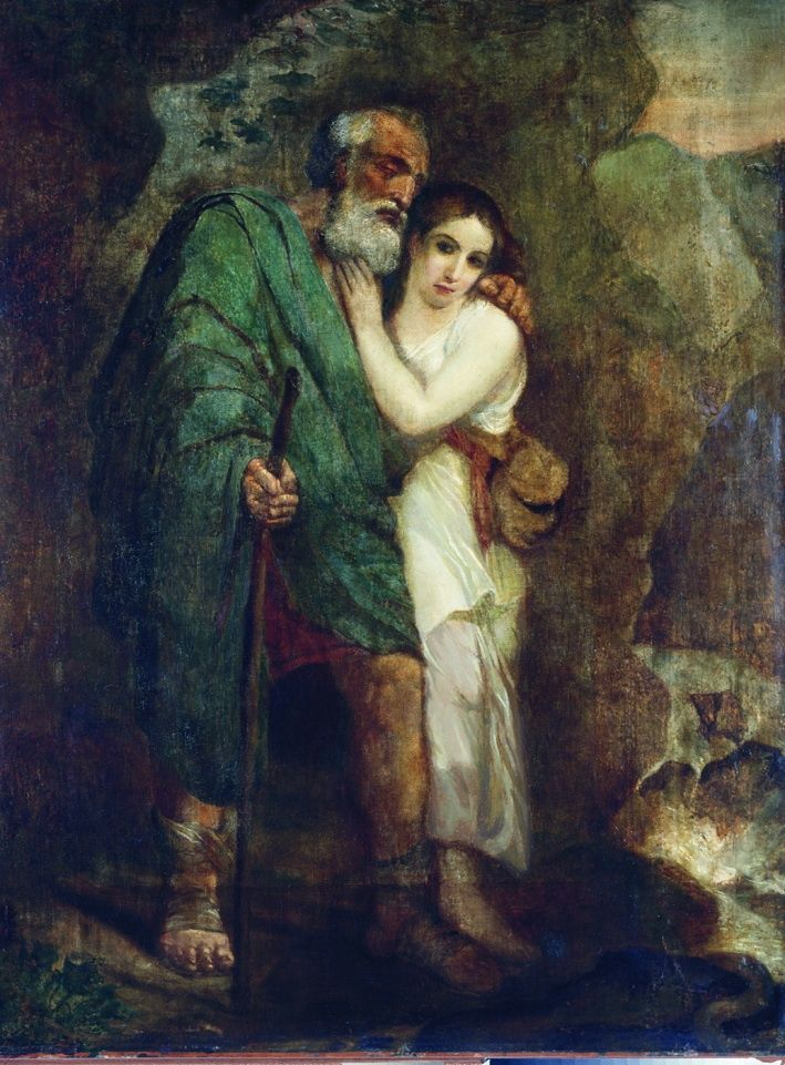 1821. Эдип и Антигона. Тюменский музей изобразительных искусств