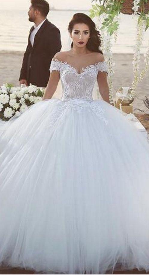 1539 best Wedding Dresses images on Pinterest   Homecoming dresses ...