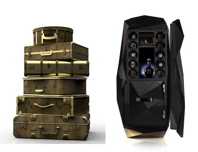 Nouvelles collections de Rolex, Baselworld 2014, Coffres de luxe, Boca do Lobo, Idees Deco Maison, www.ideesdecomaison.ch