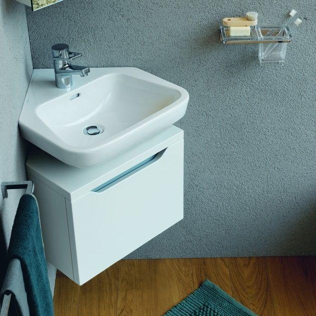 Угловая раковина с тумбой для ванной: выбираем умывальник угловой с тумбой в…