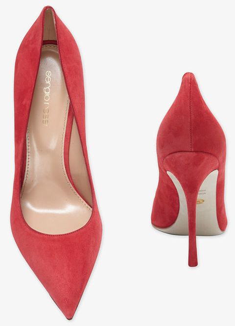 What To Wear With Red Suede Shoes