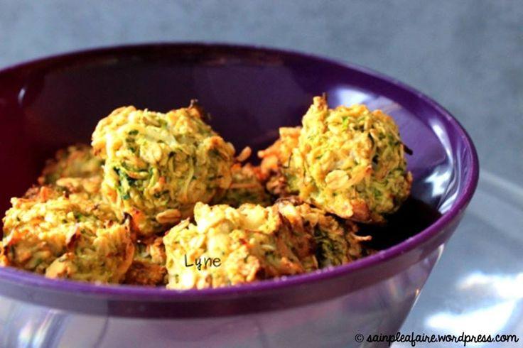 Croustillantes, ces boulettes de flocons d'avoine :) => http://ow.ly/w7ki309ttdZ