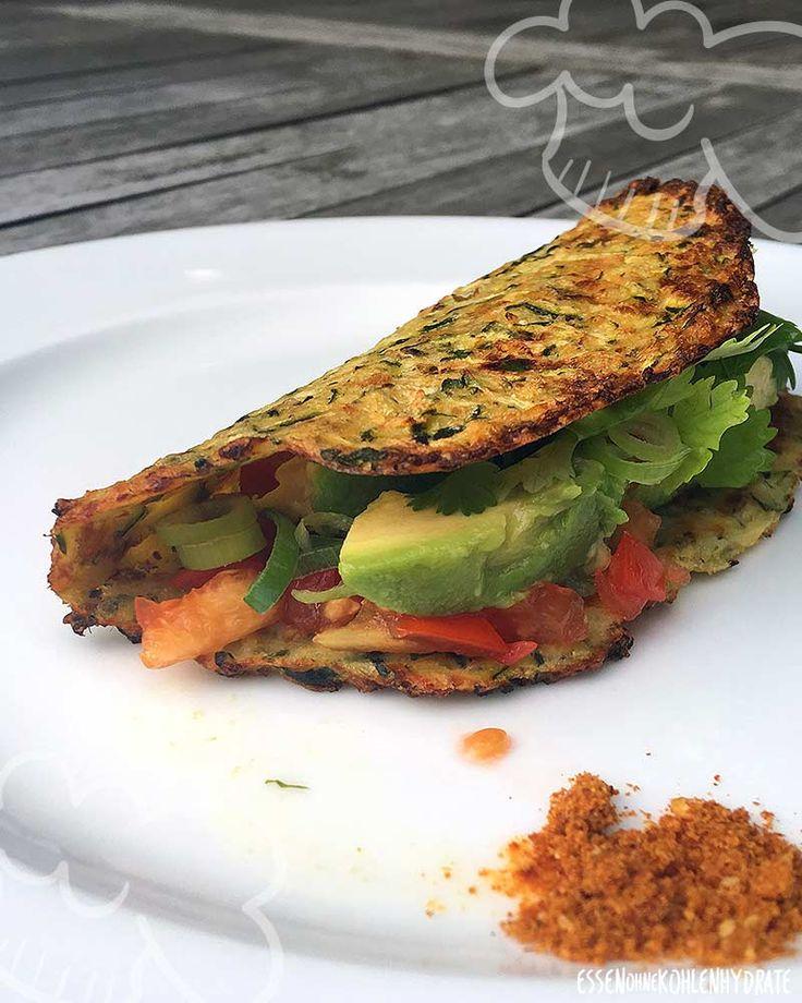 Leckere Zucchini-Tortillias – Essen ohne Kohlenhydrate