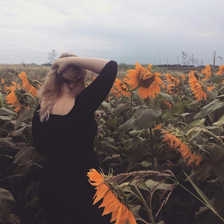 #aesthetic #sunflowers #summer