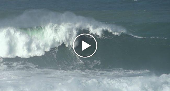 Mar Da Nazaré Novamente Nas Bocas Do Mundo Depois De Surfista Apanhar Onda Monstruosa