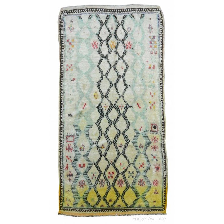 Vintage Moroccan Shag Rug X2955 on sale for $2000. Handmade Rugs, Vintage Rugs at Carpet Culture
