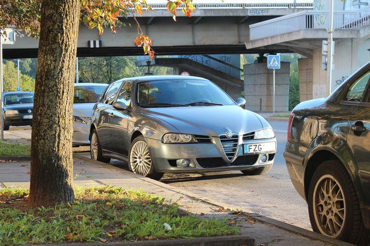 Alfa Romeo 156 Sportswagon - different rims though ...