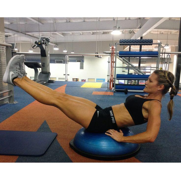 b. abdominals - STEP 1 - BOSU ABS | Easy workouts, Workout ...