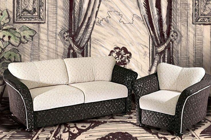Мягкая мебель Романс DaVanti - двухместный диван и кресло